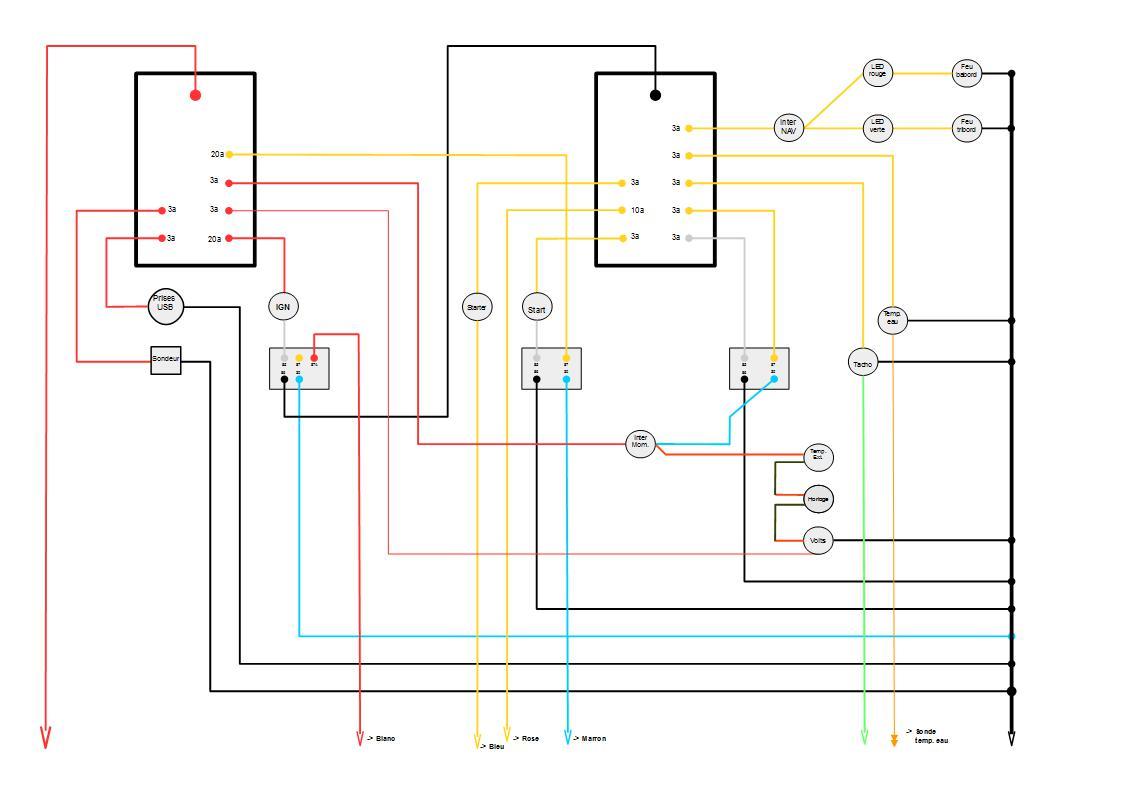 Pratiques et techniques de la plaisance - Probleme electrique maison court circuit ...