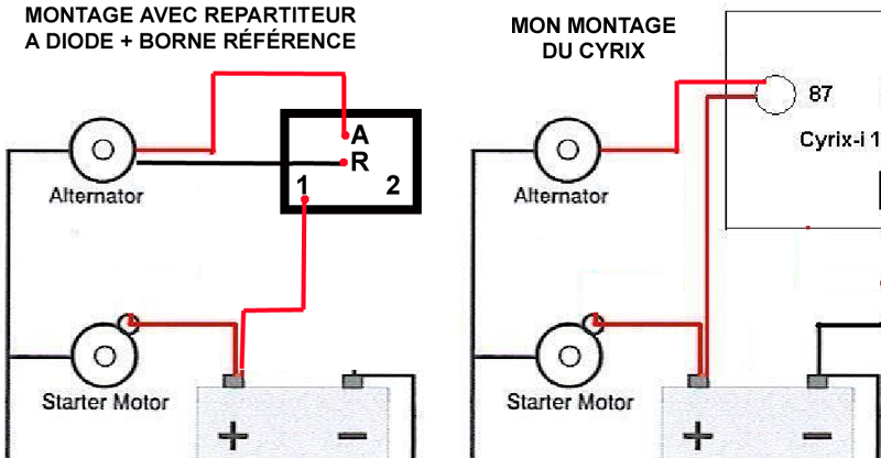 Couplage Des Batteries on volvo wiring diagram